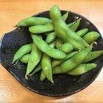 蕎麦屋 さけ処 六味庵 - お通し枝豆