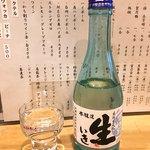 蕎麦屋 さけ処 六味庵 - 谷桜 生いき 本醸造