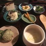 やさい イタリアン オアジ - 前菜の盛り合わせ\(^o^)/やばい!ぜんぶ美味い\(^o^)/