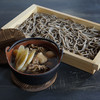 山形蕎麦茶寮 月の山 - 料理写真:芋煮汁板蕎麦