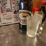 ニューエビスノ - キリンビンビール中(税別550円ほど)