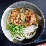 桃山亭 - 料理写真:唐揚げぶっかけ冷(ぶっかけ冷+からあげ)