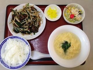開華園 - 自分で選べる中華定食 860円 → 500円(ランパスvol.11提示) メイン・小鉢・ご飯・スープ・漬物