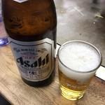84486363 - ビール 中瓶 500円(税込)
