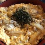鳥居亭 - 親子丼ランチ1,000円