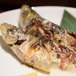 和神 - 【本日の日替わり焼き魚定食@税込1,000円】いわし2尾