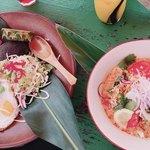 亜熱帯茶屋 - ガパオライスと豆乳冷麺♪