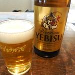 84489980 - エビス瓶ビール