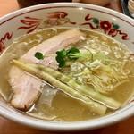 84490731 - 塩(細麺)のアップ