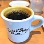 エッグスンシングス 湘南江の島店 - コナコーヒーブレンド