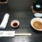 秀亭かねろく - 料理写真:最初のセッティング