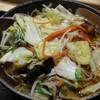 ゆで太郎 - 料理写真:野菜たっぷりそば、大盛