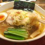 天下ご麺 - 近江塩鶏麺   綺麗なラーメン!   スープも完飲(^○^)