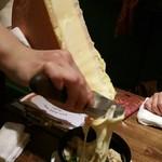 バール ブリオ - ブロッコリー&パンのラクレット