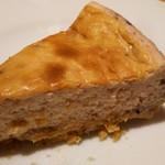 ネパールカレー 奈央屋 - いちごのチーズケーキ