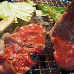 田 - 焼き野菜・上ロース