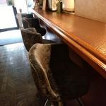 パール - 銅1枚のテーブル。