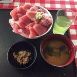 大遠会館 まぐろレストラン - まぐろ豪快丼 ¥1,000-