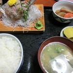 花ふじ - アジタタキ定食
