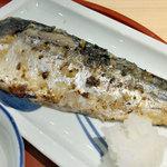 森町食堂 - 日替わりランチ定食(さばの西京焼)