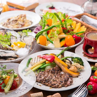 体に優しいオーガニックタパスは旬の鎌倉野菜を使用◎