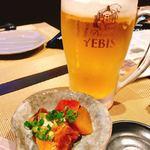漁師酒場・海亭 - ビール&お通