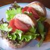 わをん - 料理写真:本日のサンドイッチ (なるかポークベーコン・レタス・トマト)