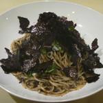 トラットリア ギフト - 料理写真:佐賀県有明海産の海苔バター スパゲッティーニ