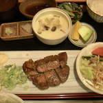 素材蔵 福吉 - とんてき定食