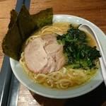 麺家千晃 - ラーメン ほうれん草増し