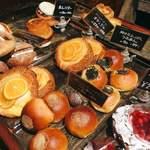 ル・ミトロン - クリームチーズ入りオランジェ、おいしそう…!