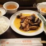 中國酒家 - なすと豚肉のピリ辛炒め定食