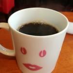 浅草カフェ ラグランドカリス - モーニングのコーヒー。たっぷり。一回お代わりできます。