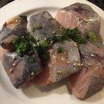 石垣島焼肉魚介 おりじん - ビンチョウマグロハラミ