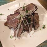 石垣島焼肉魚介 おりじん - コールド牛タン