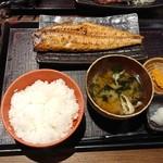 越後屋権兵衛 - トロホッケ定食