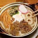 山半 - 松山名物鍋焼きうどん:850円税別