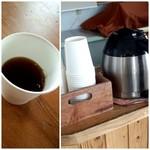84513596 - イートインの無料のコーヒー