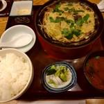 金泉 - 柳川定食