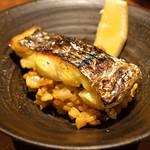 84514185 - 太刀魚のパエリア