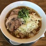 手打ちラーメン 谷家 - 料理写真:冷し煮干しラーメン
