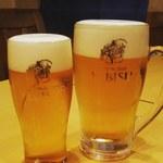 海鮮居酒屋ふじさわ - サッポロビール認定のパーフェクトヱビス