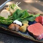 84518225 - 食材 (「牡丹 最高級佐賀牛フィレ」9000円)