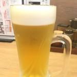 日本の中華そば富田 - ビール
