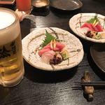 楽酒菜 輪 - お刺身