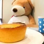 ブーランジェリー ラ ヴィ ブリヤント - パン屋さんのチーズケーキ