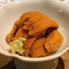 神馬 - 料理写真:北海道産の生雲丹