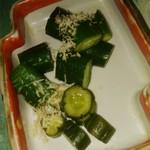 パラダイスキッチン - きゅうりの漬物