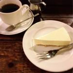 神田伯刺西爾 - レアチーズケーキとコーヒーのセット