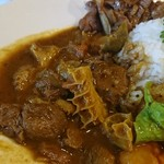 中華料理 八戒 - 鹿肉&ハチノスカリィ